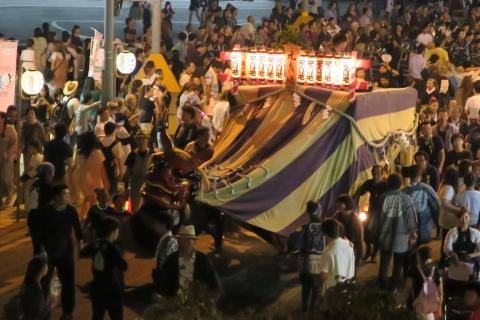 常陸國總社宮例大祭「神幸祭」夕闇の祭㉒
