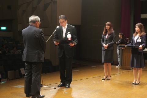 平成28年10月1日石岡市表彰式⑥