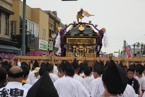 平成28年「還幸祭」大神輿渡御⑫