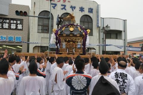 平成28年「還幸祭」大神輿渡御⑭