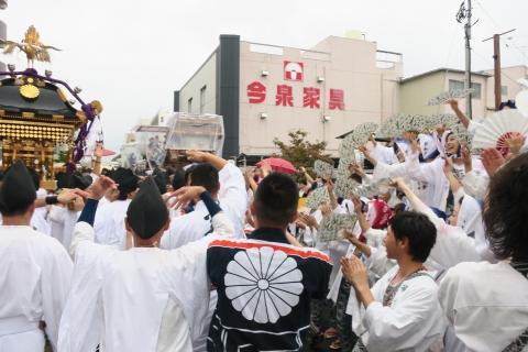 平成28年「還幸祭」大神輿渡御㉓