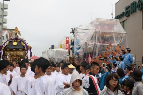平成28年「還幸祭」大神輿渡御㉙