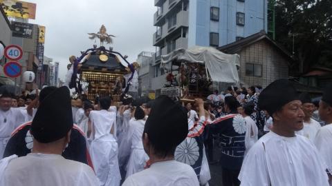 平成28年「還幸祭」大神輿渡御㉟