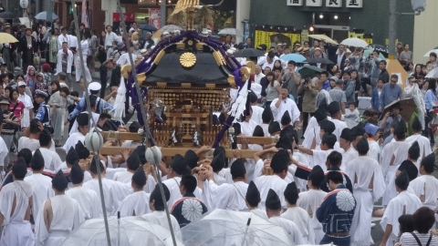 平成28年「還幸祭」大神輿渡御㊲