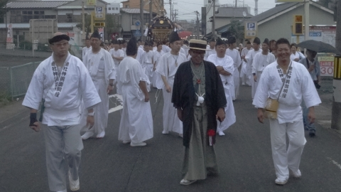 平成28年「還幸祭」大神輿渡御㊵
