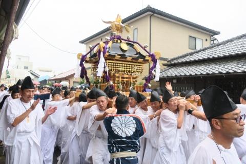 平成28年「還幸祭」大神輿渡御㊶