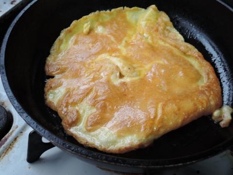娘が朝食を作ってくれました。③
