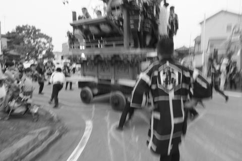 石岡の祭り「てこ切り」 ③
