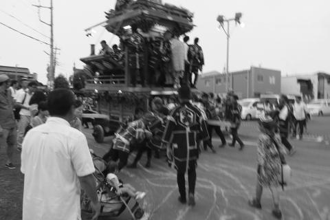 石岡の祭り「てこ切り」 ④