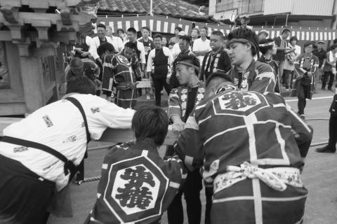 石岡の祭り「てこ切り」 ⑥