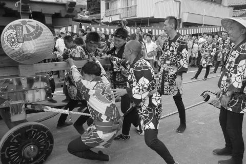 石岡の祭り「てこ切り」 ⑦