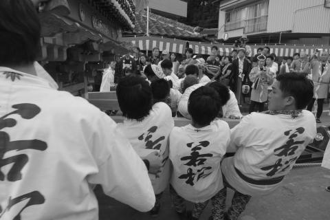 石岡の祭り「てこ切り」 ⑧