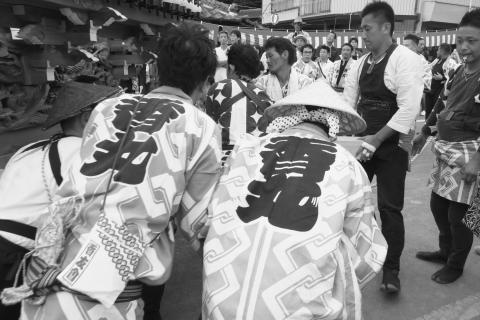 石岡の祭り「てこ切り」 ⑨