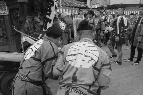 石岡の祭り「てこ切り」 ⑬