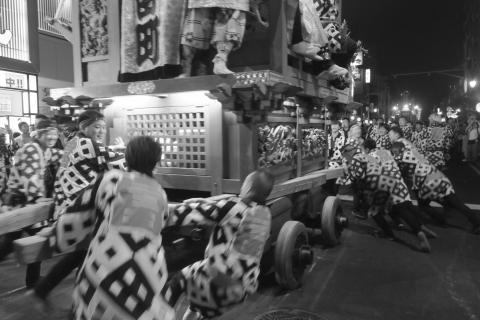 石岡の祭り「てこ切り」 ⑱