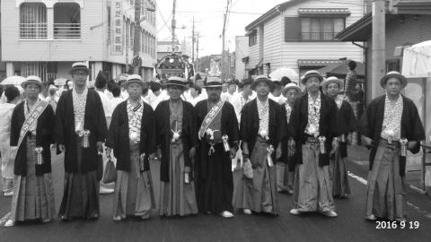 平成28年「還幸祭」大神輿渡御㊷