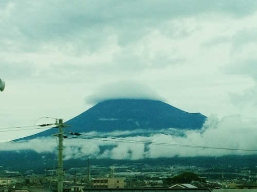 500夏の富士山160709