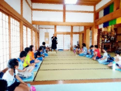 500小学2年生のお寺探検160711