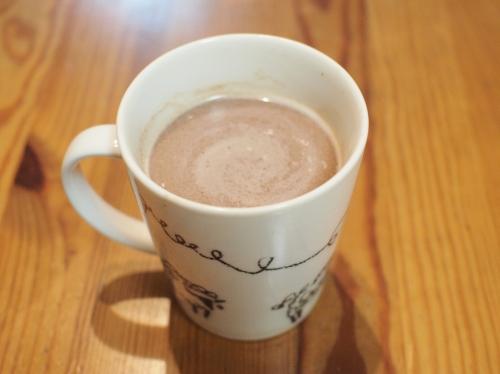 500牛乳とチョコレートとホットチョコレート7