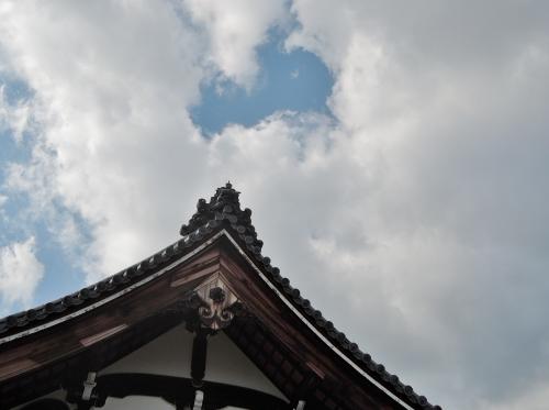 500妙心寺の瓦を見て1