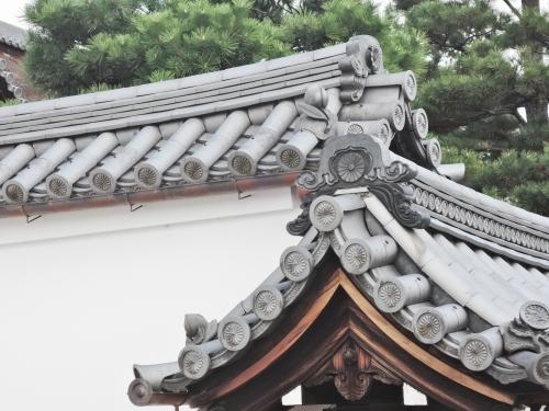 500妙心寺の瓦を見て7