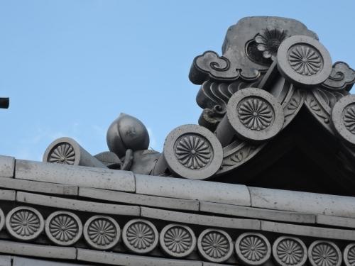 500妙心寺の瓦を見て8