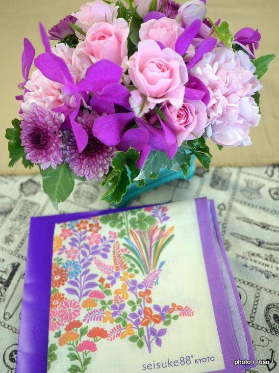 seisuke88「ハンカチのセット」 日比谷花壇2016敬老の日