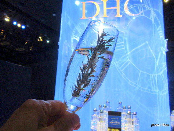 DHC時計遺伝子コスメ発表会