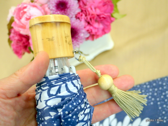 nugoo「折畳晴雨兼用傘 白菊のセット」―日比谷花壇2016敬老の日