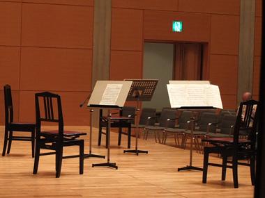 4オペラシティ小ホールステージ0528