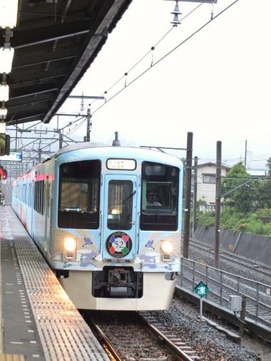 6電車入線0827