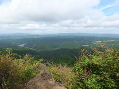 17山頂からの展望0927