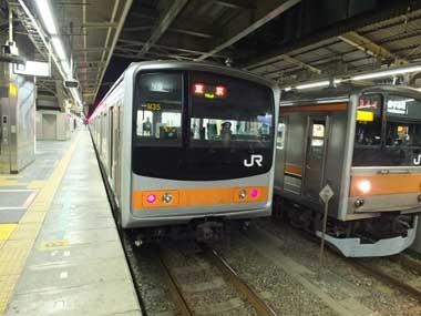 3武蔵野線下り始発1008