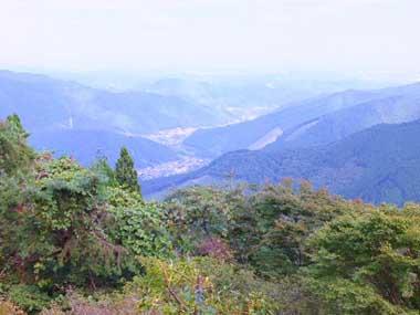 9御岳山駅近くの展望台1007