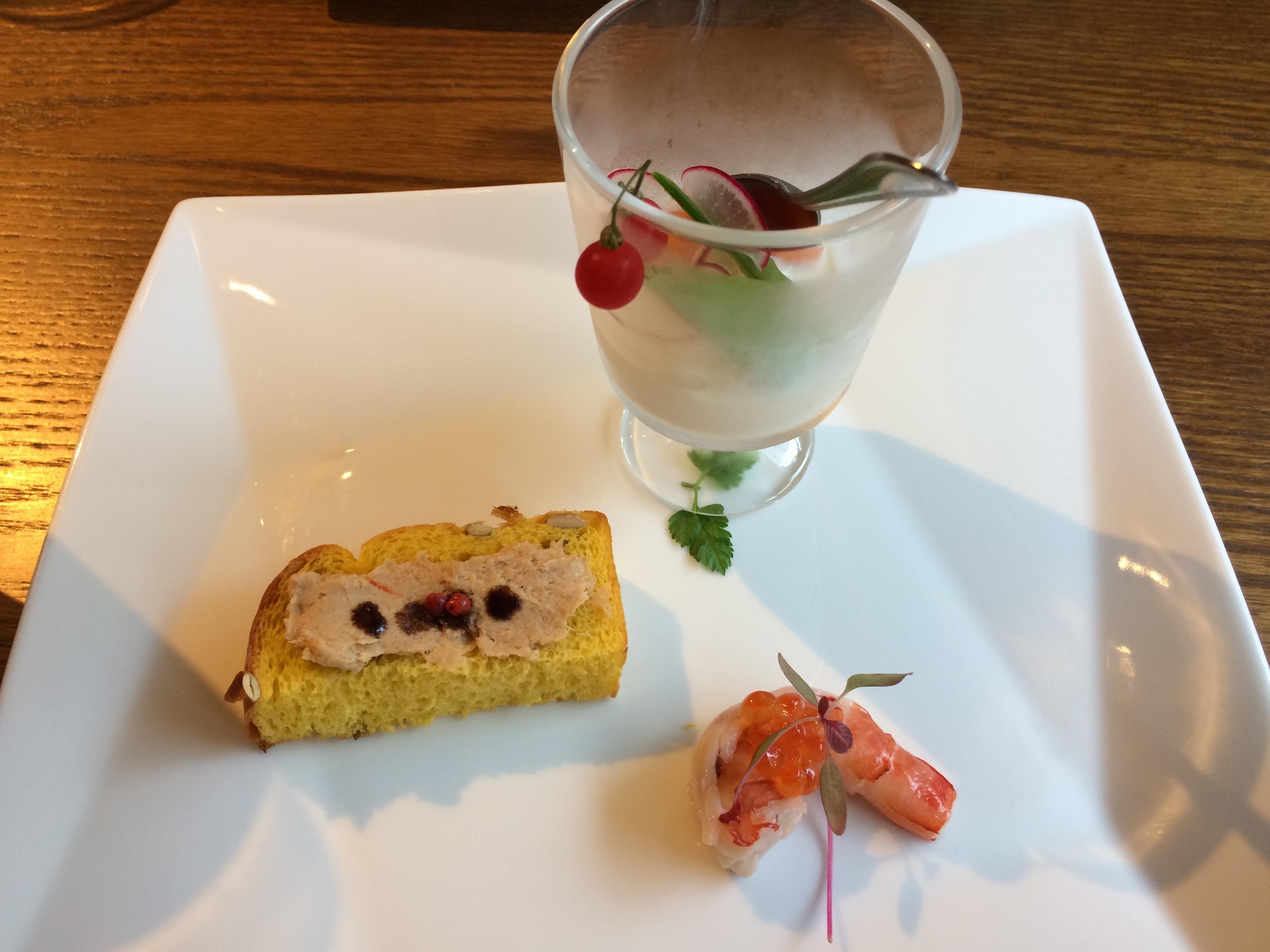 岡本オーガニックカフェ前菜