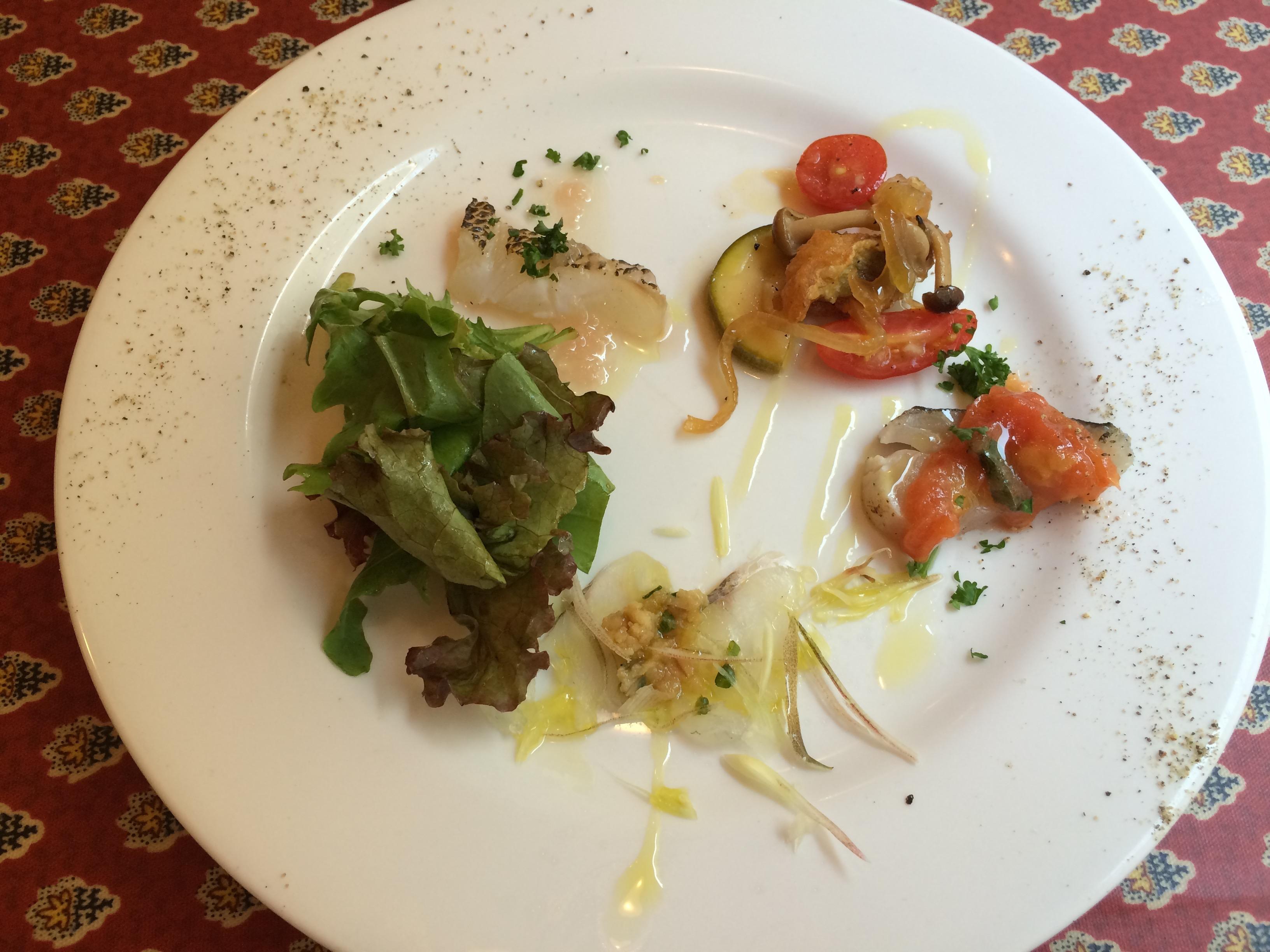 クッチーナラトリエ前菜