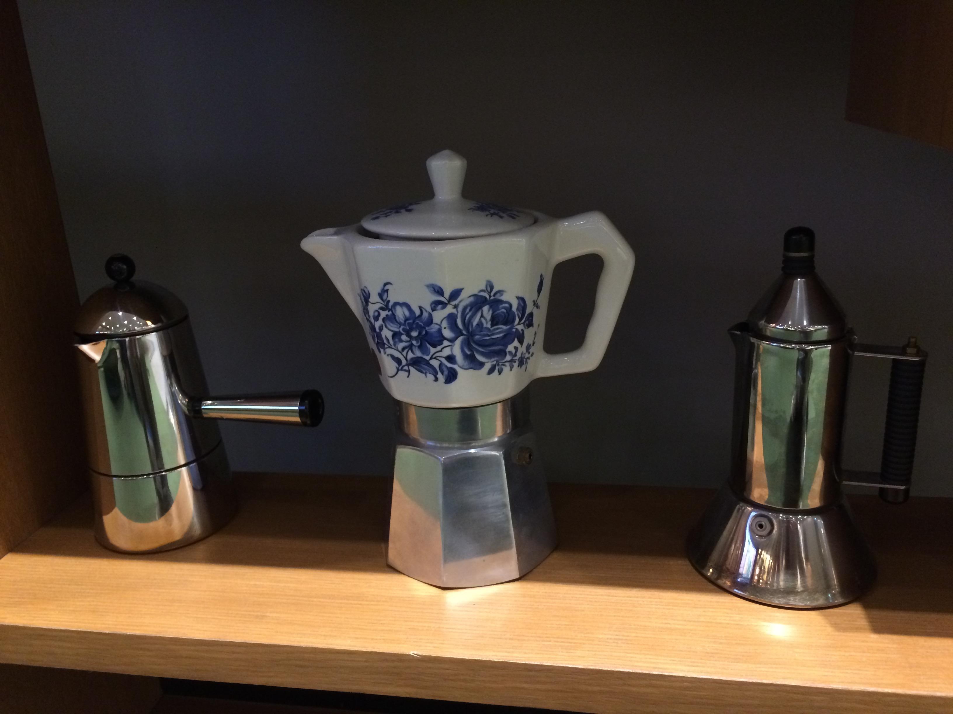 陶製エスプレッソマシン