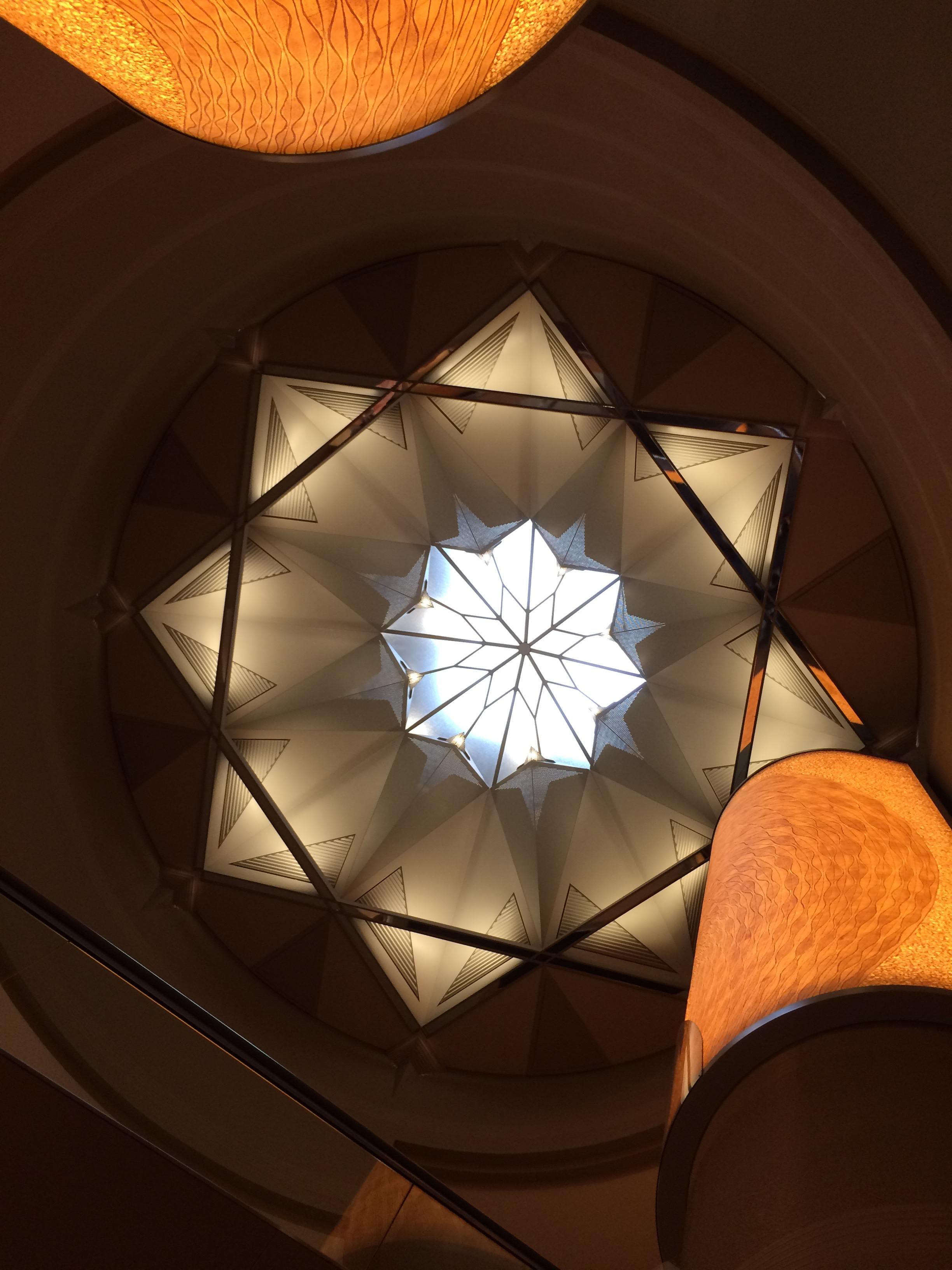 コーヒー博物館の天窓