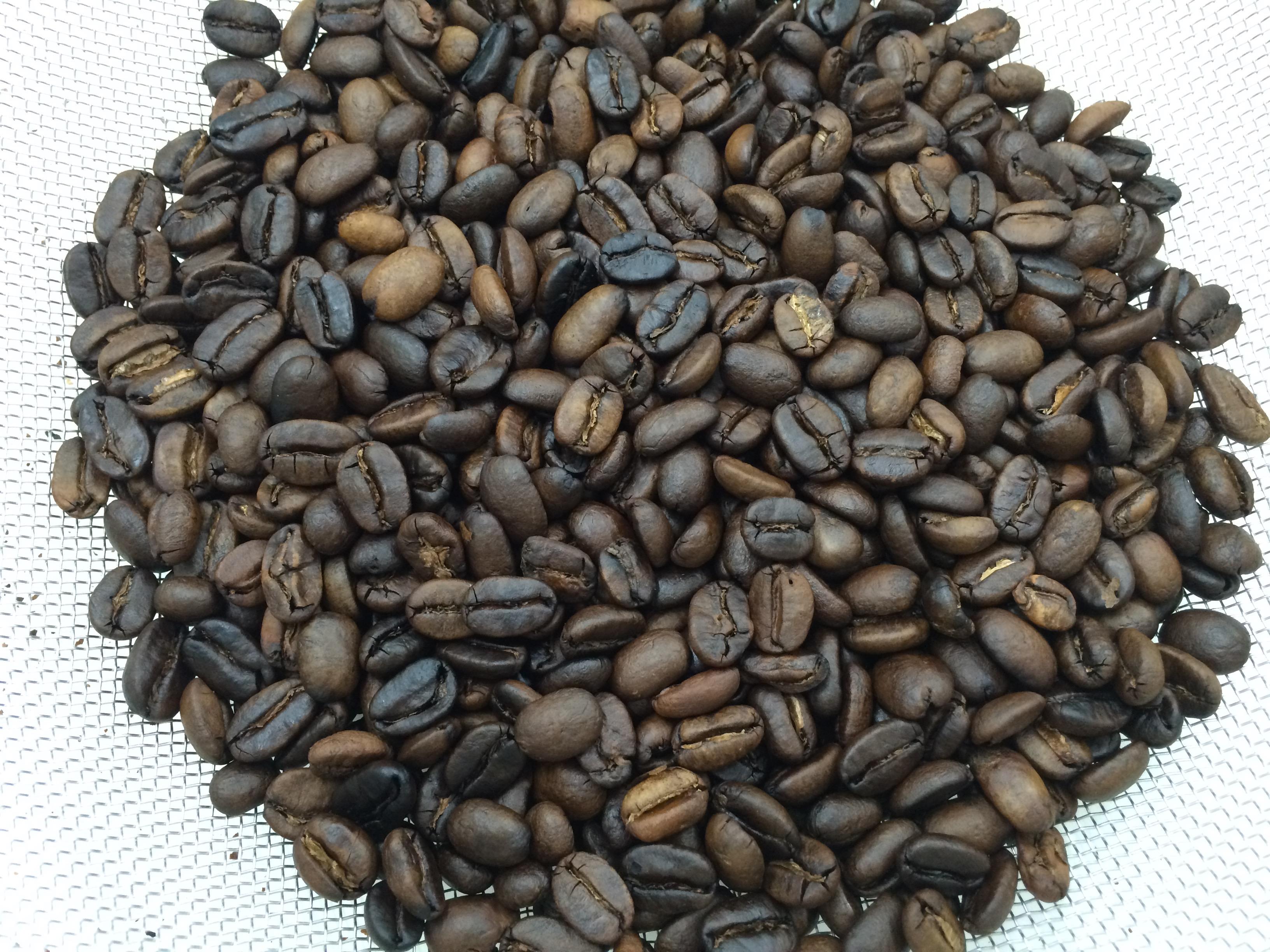 コーヒー豆焙煎シティロースト