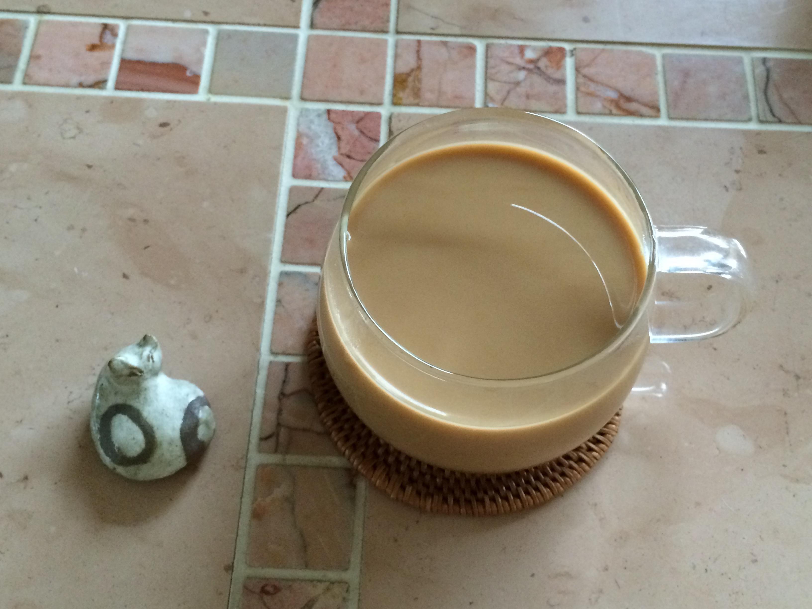 自家焙煎コーヒーミルク入り