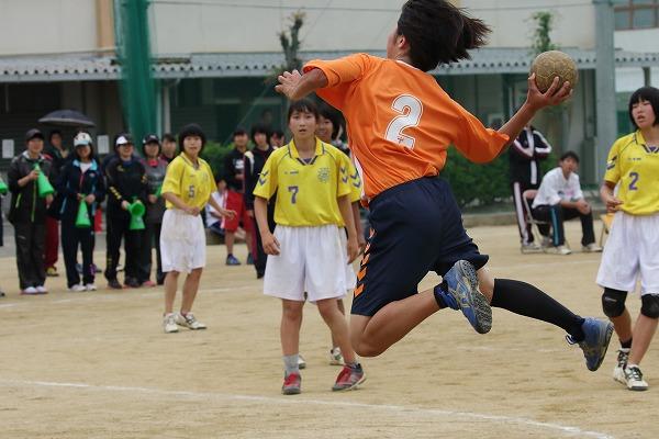 高校総体中予地区予選女子1回戦 松中-松東 160423 02