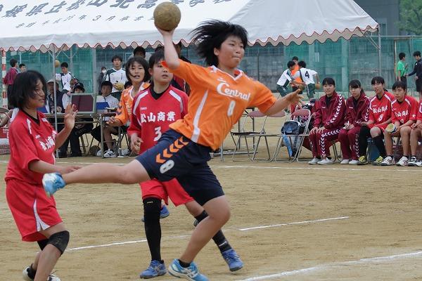 高校総体中予地区予選女子準決勝 松商-松中 160423 01