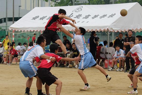 高校総体中予地区予選二回戦 松工-松南 160423 01