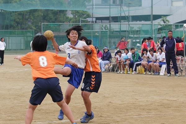 高校総体中予地区予選女子決勝 松山中央-松山北 160424 06