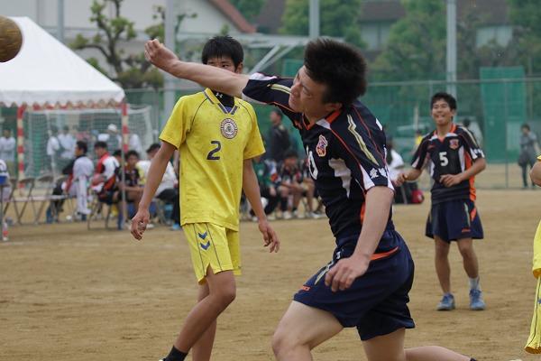 高校総体中予地区予選準決勝 新田-松東 160424 04