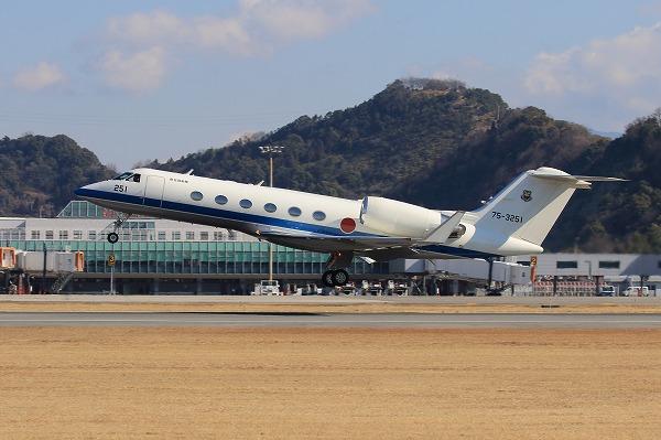JASDF G-ⅣMPA 75-3251 RJOM 160208 01
