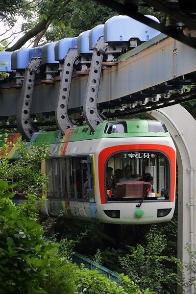 上野動物園モノレール 160716 01