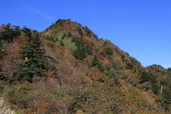 瓶ヶ森林道紅葉 161015 11