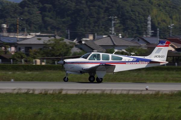 Beechcraft F33A Bonanza UJA3907 RJOM 161010 01