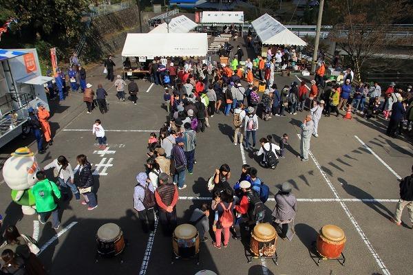 白猪の滝祭り 161103 04